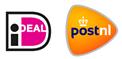 Betalen me iDeal, bezorgd met PostNL